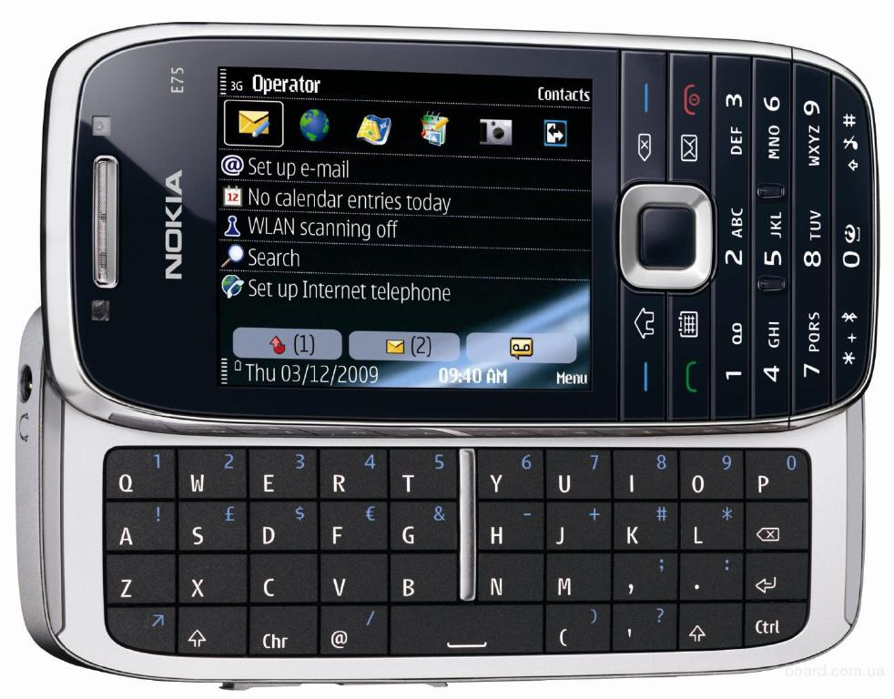 В наявності Nokia E75