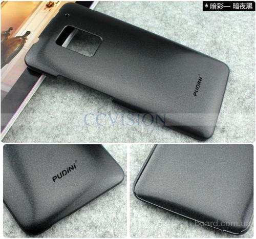 Чехол пластиковый для HTC One max T6 черный