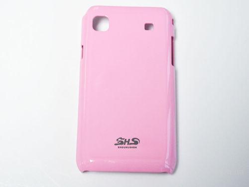 Пластиковый чехол для Samsung Galaxy S I9008 розовый. (Наложенный платеж)