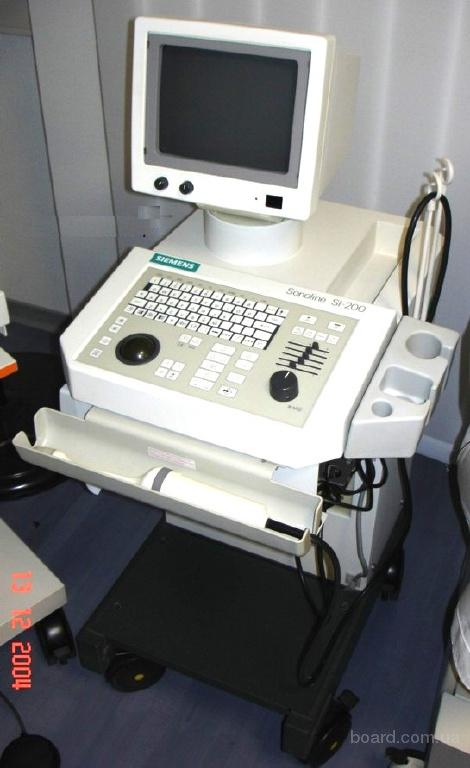 Аппарат УЗИ Siemens  Sonoline SI 200 (1999-2001 год)