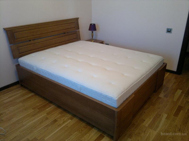 Кровать из натуральных материалов в Новосибирске