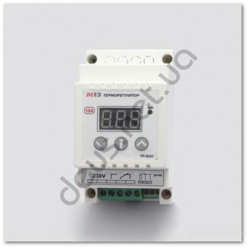 Терморегулятор (термореле) цифровой высокотемпературный на DIN-рейку