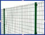 Установка забора, ограждения из сетки с ПВХ или полимерным покрытием
