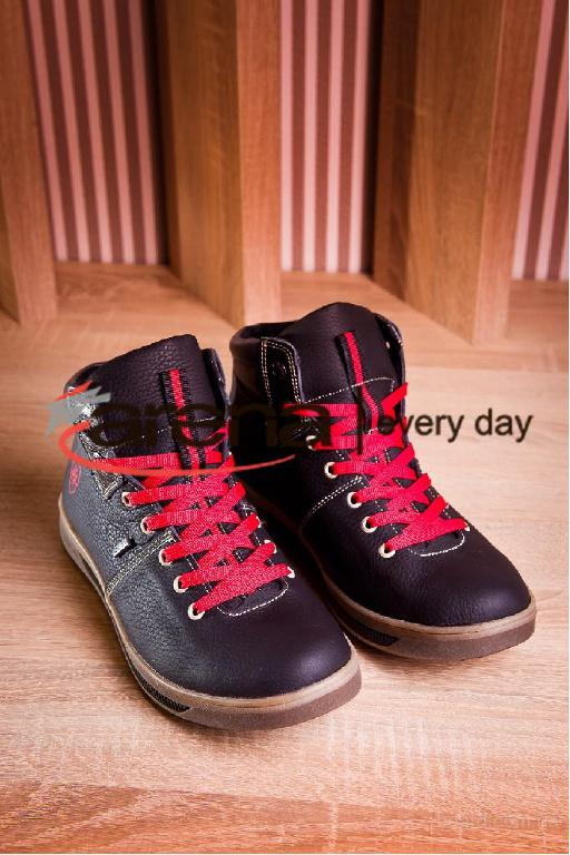 Ботинки Tommy Hilfiger кожаные мужские артикул 222-2016-1