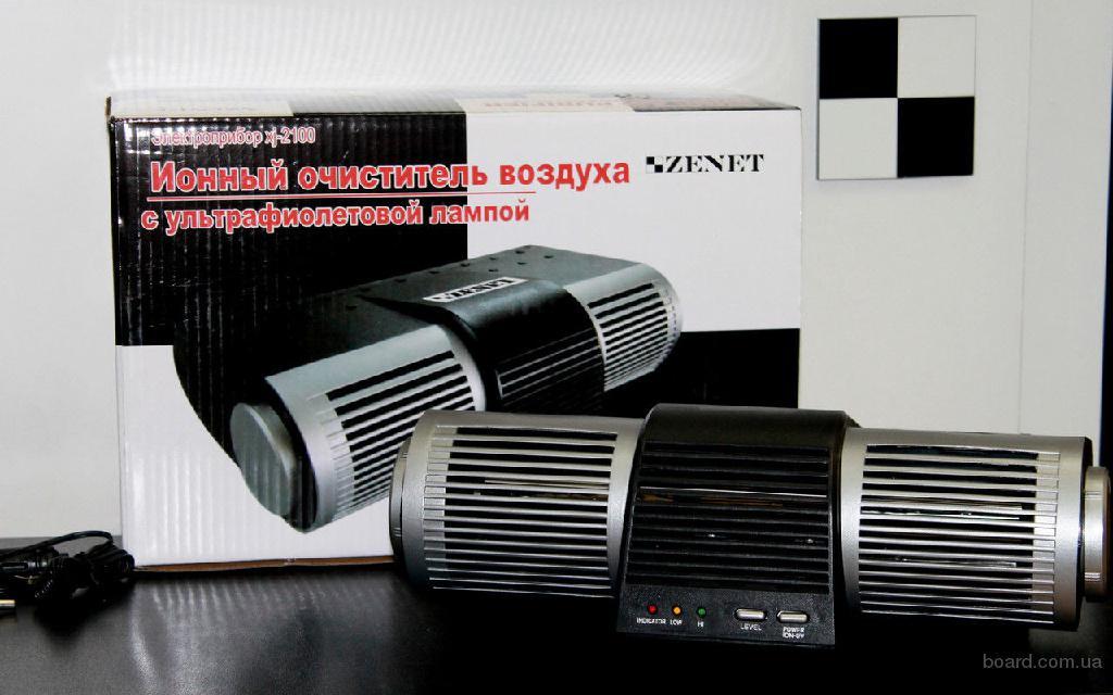 Очиститель ионизатор воздуха с ультрафиолетовой лампой Zenet