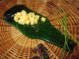 Тарелочка для закусок «зеленая 0,5»