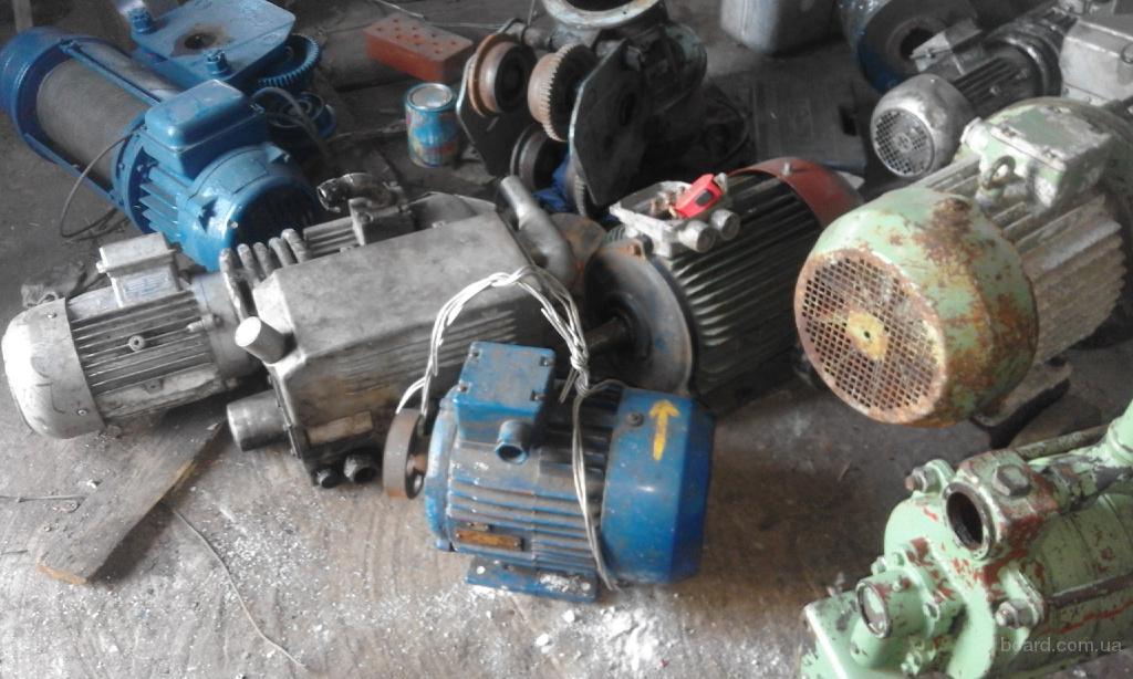 продам обменяю Электродвигатель АМУ112М4 4 кВт/1500 об лапа   так же есть 4ам