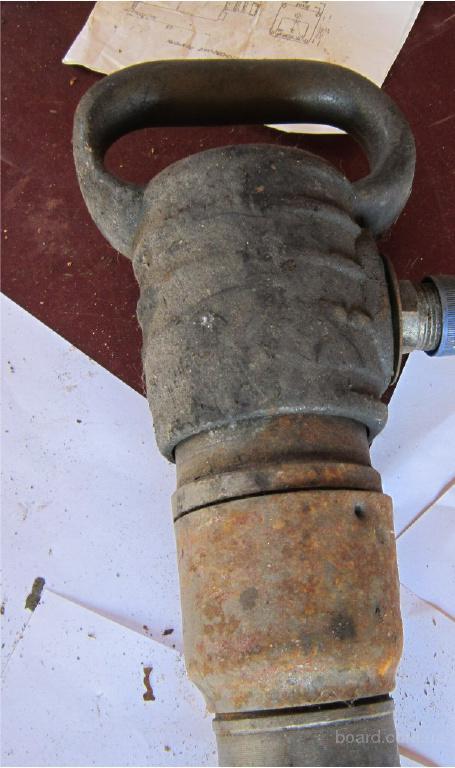 Отбойный пневматический молоток,б.у рабочие после ремонта.