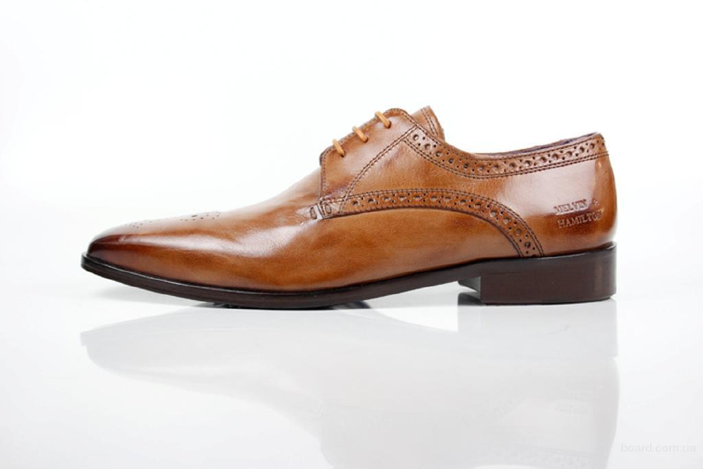 Туфли оригинальные кожаные Merlin & Hamilton (ТУ – 079)  52 размер