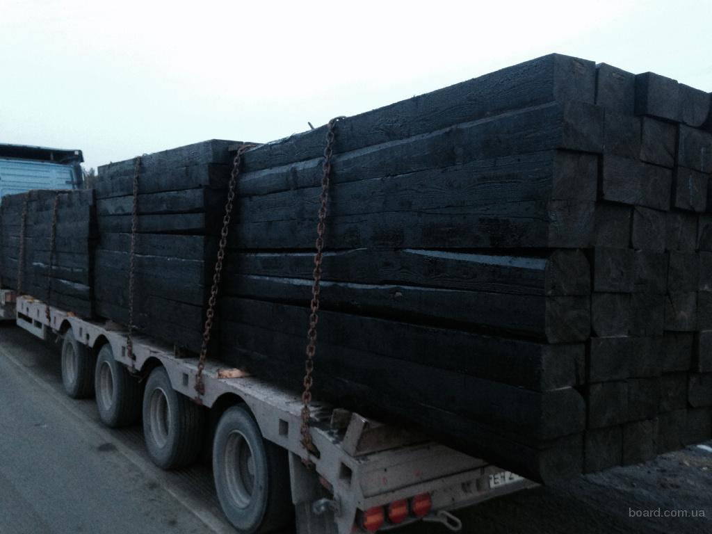 Шпалы железнодорожные деревянные 1 и 2 типа продаем в Брянске