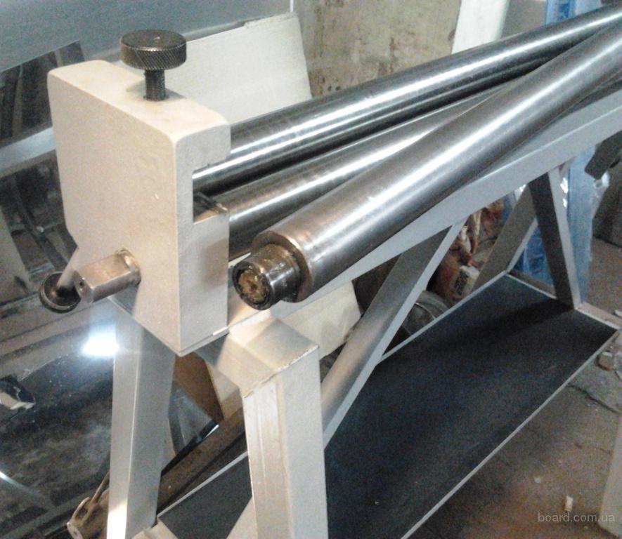 Ручные трехвалковые вальцы РВС-1000