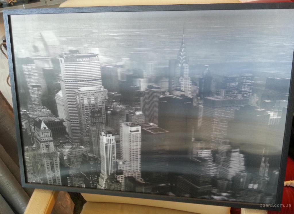 3D фото Нью Йорк 66 х 46 см