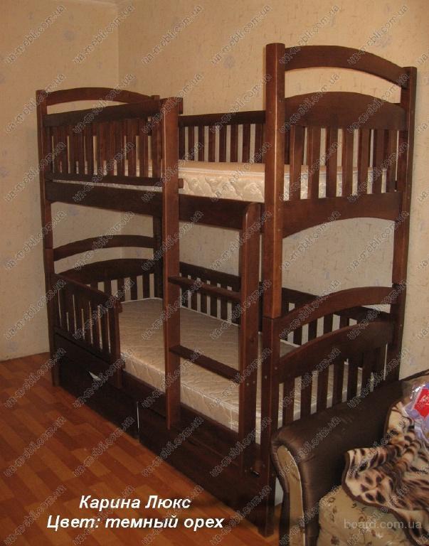 Двухъярусная кровать Карина Люкс