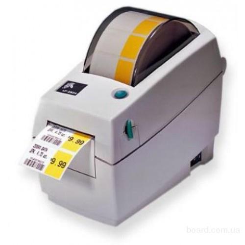 Принтер этикеток, штрих-кодов Zebra LP 2824