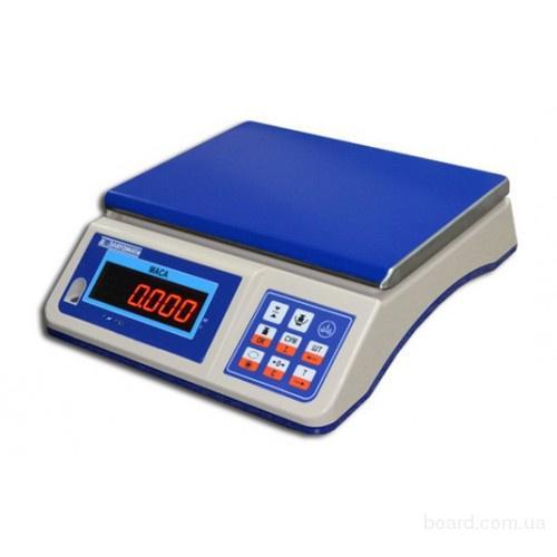 Весы фасовочные ВТНЕ1-3L1/3L1K, 6L1/6L1K, 15L1/15L1K, 30L1/30L1K