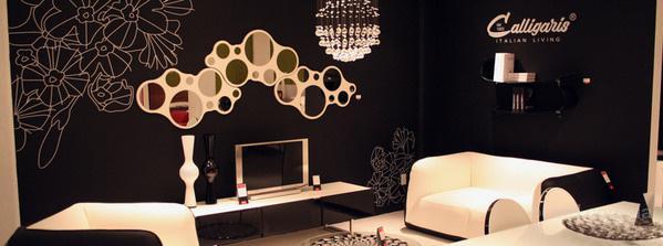 Футуристичное зеркало Calligaris Bubbles