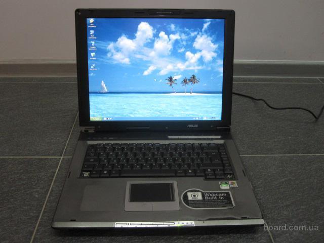 """Ноутбук в рабочем сост. Asus A6000U """"15.1 диспл, проц 1.8GHz, тв-выход"""