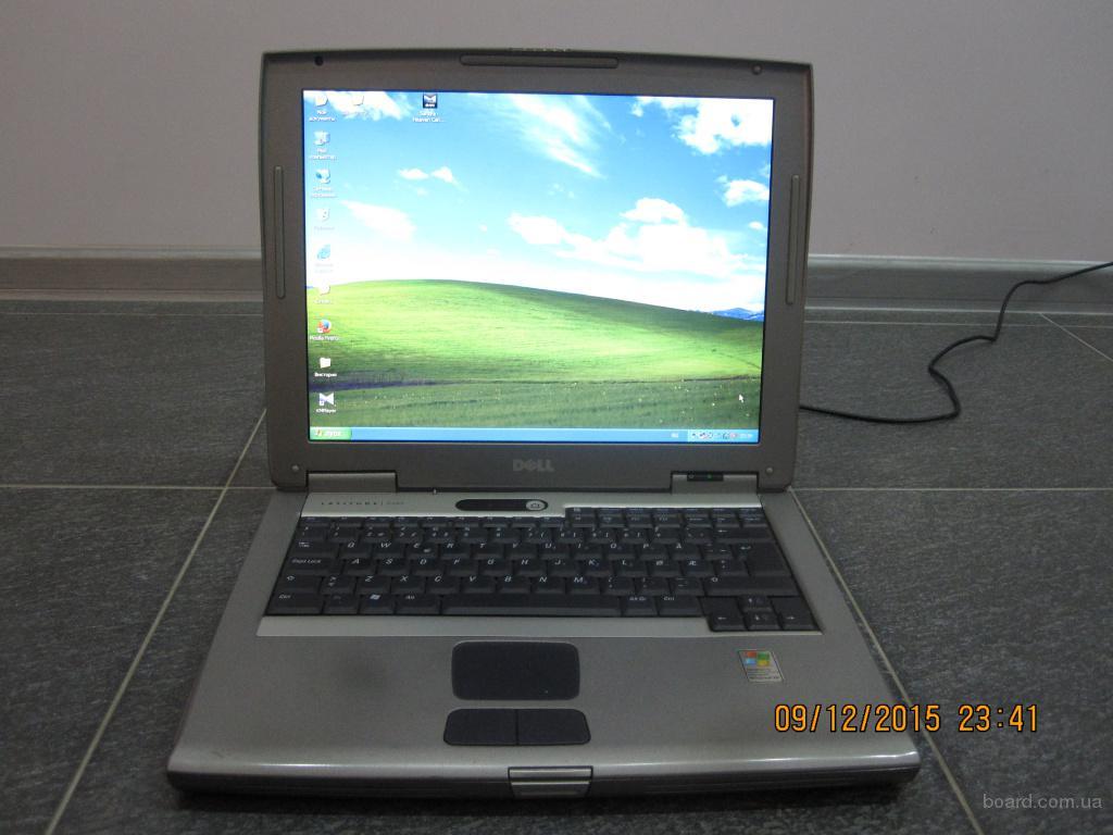 Ноутбук Dell Latitude 505 в хорошем состоянии, WiFi, тв-выход, все работает