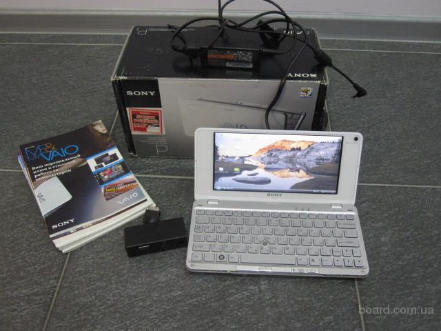 Нетбук Sony VGN-P21ZR 3G GPS Bluetooth 2Гб ОЗУ, коробка и документы