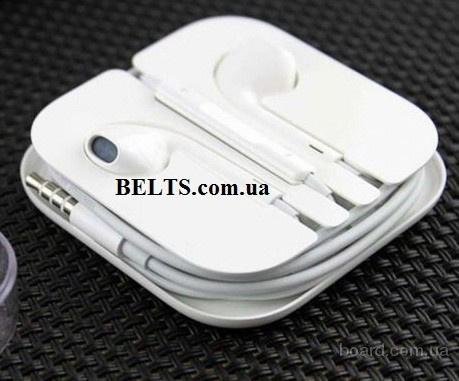 Украина.Белые наушники MDR IP (гарнитура - аналог наушников для iPhone, Ipad)