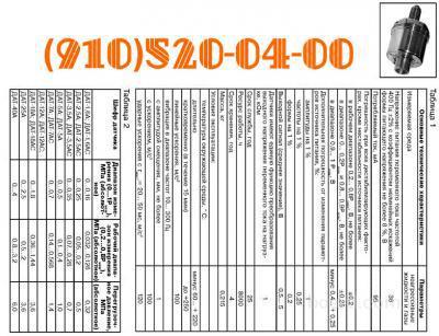 Продам датчики: ДАТ-40А; ДАТ-80С; ДАТ-150; ДАТ-1,6АС; ДАТ-25М; ДАТ-15; ДАТ-400;