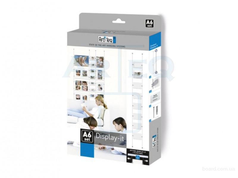 Голландская тросовая система для фотографий Display It A6
