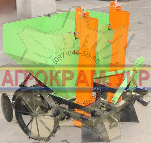 Двухрядная картофелесажалка для минитрактора ДТЗ-КС-2А