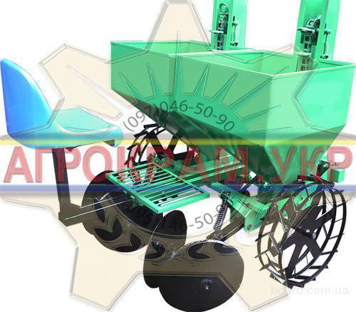 Двухрядная картофелесажалка для минитрактора КСН-2