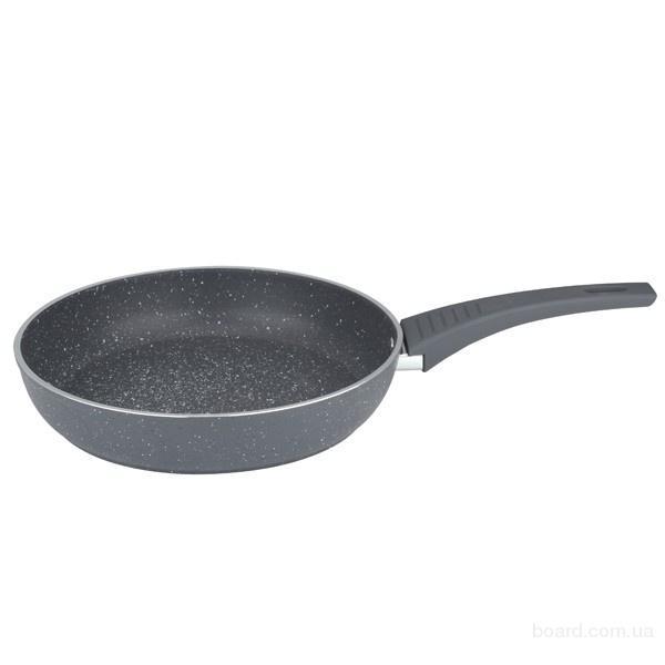 Сковорода с гранитным анти-пригарным покрытием MR1214-24cm