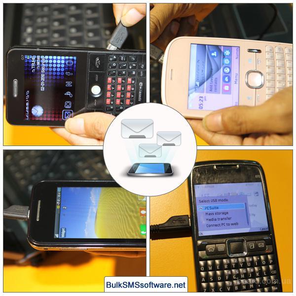 Отправить SMS-сообщения с помощью Unicode Профессиональная версия Смс программного обеспечения