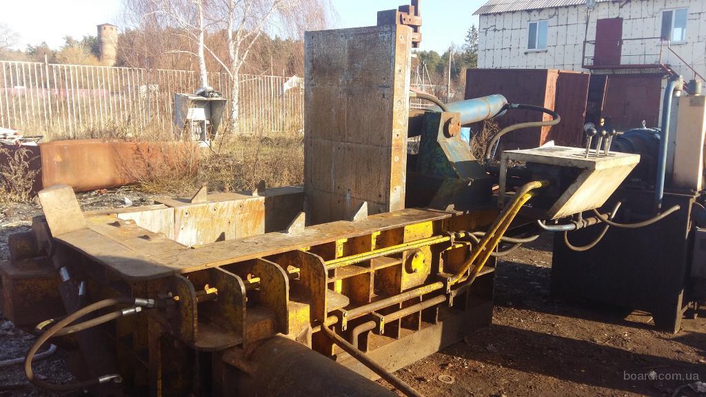 Пресс для металлолома китайский Y81F-125