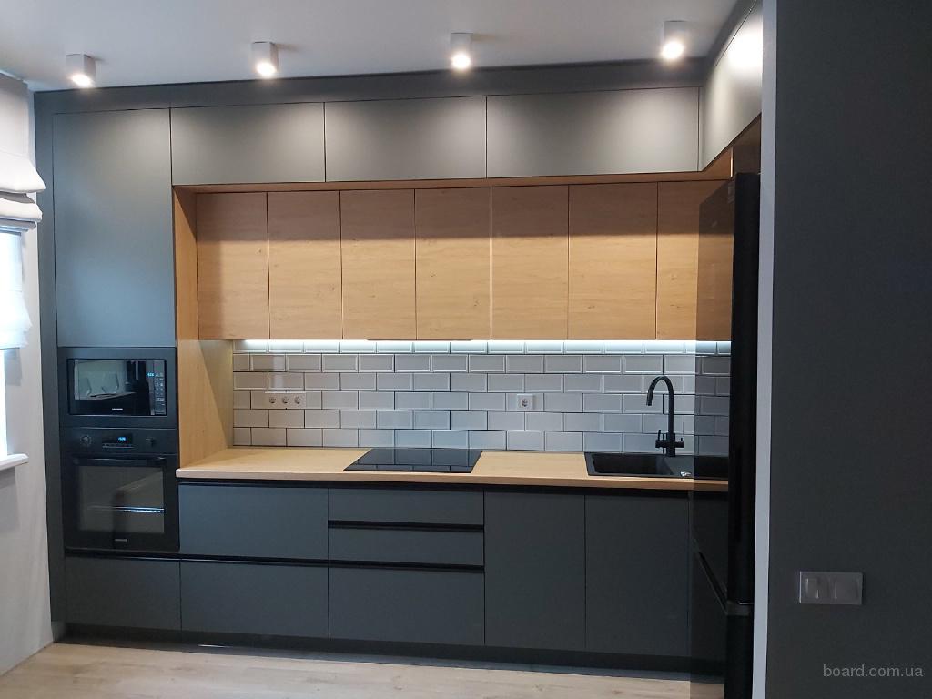 Кухня на заказ в Киеве.Мебель для кухни по индивидуальным размерам.