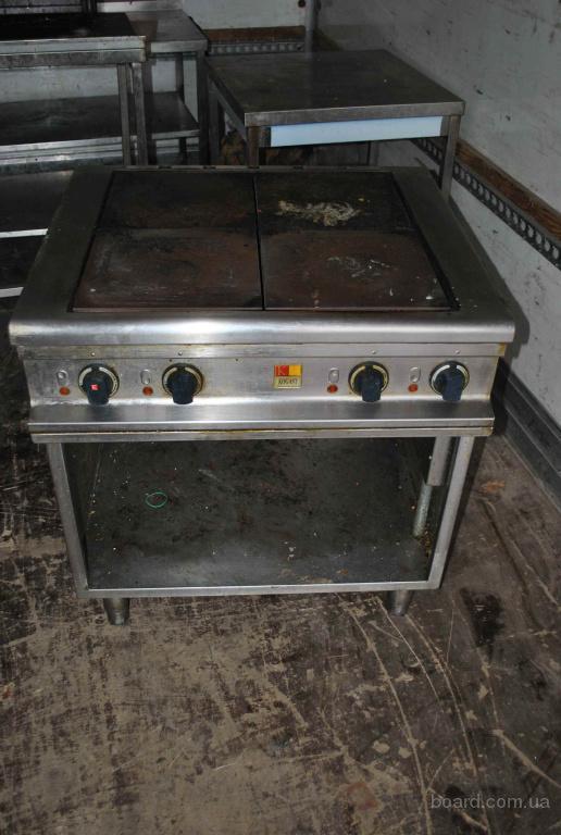 Бу плита 4х конфорочная без духовки Kogast ES-T47P