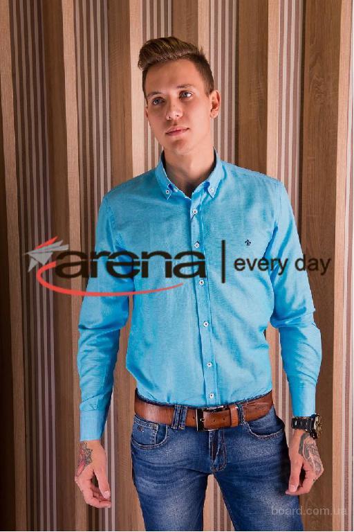 Рубашка Tonelli мужская голубая артикул 07/100-10