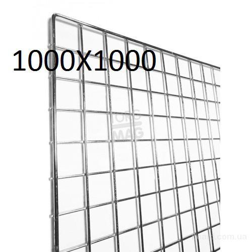 Решетка 1000X1000 хром Украина