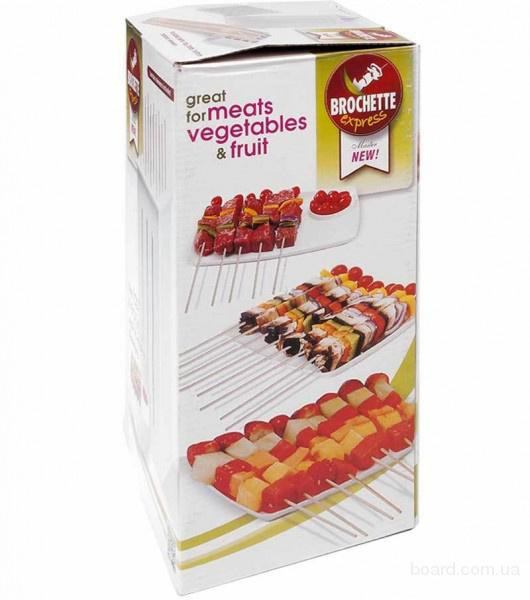 Цина.Форма для нарезки мяса Brochette Express (форма для быстрого нарезания мяса на шашлык Броч Экспресс