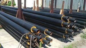 Труба стальная в ПЕ оболочке 426/560