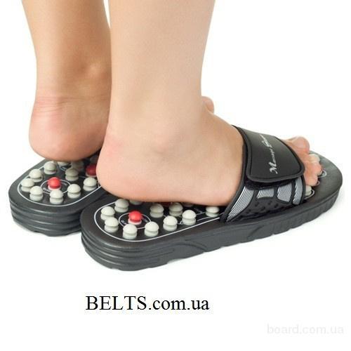 Цина.Рефлекторные массажные тапочки Lanaform (акупуктурный массаж ног Ланаформ)