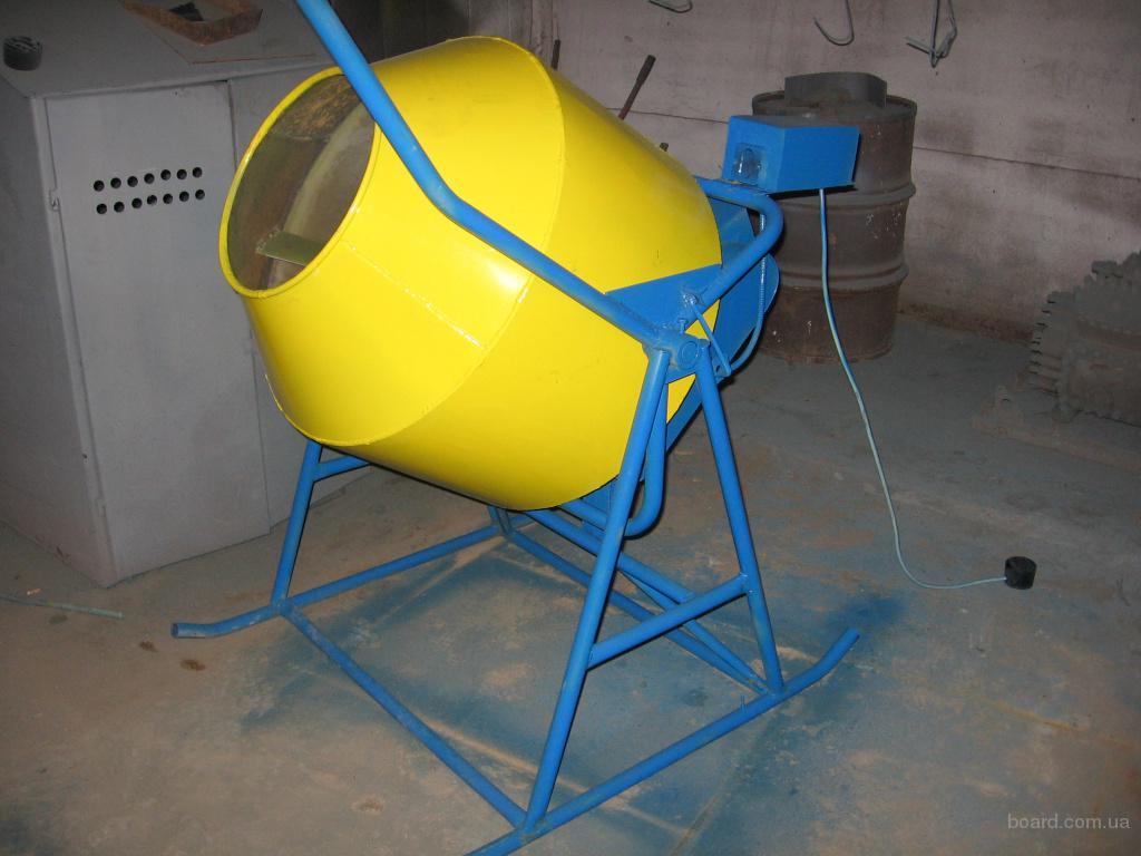 бетоносмеситель (бетономешалка) БС 315