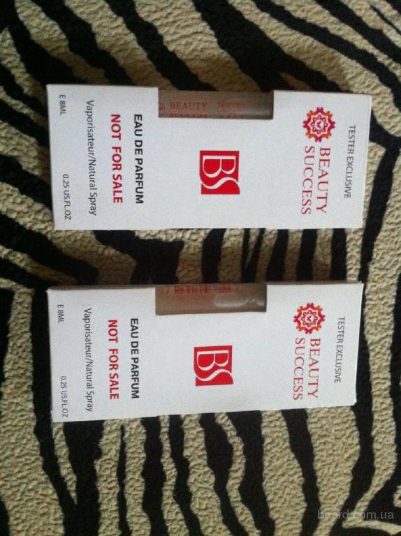 Эксклюзивные тестеры оригинальной брендовой парфюмерии