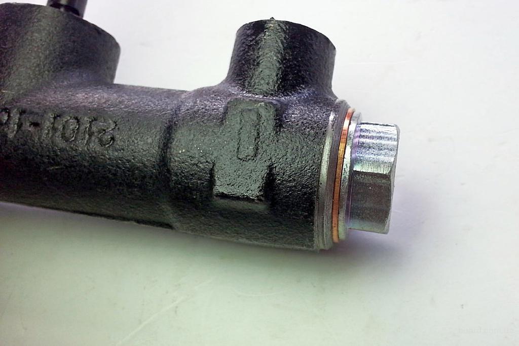 Как сделать главный тормозной цилиндр фото 89