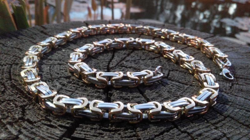 Мужская цепь Steel Rage