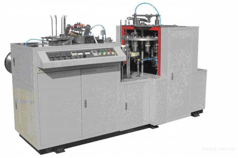 Оборудование для производства бумажных стаканчиков и бумажной посуды
