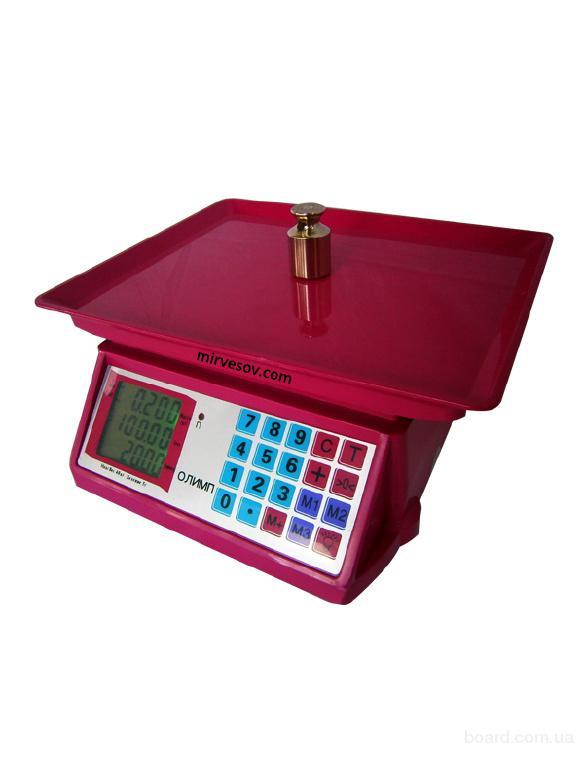 Торговые весы Олимп ACS-802 (40 кг)