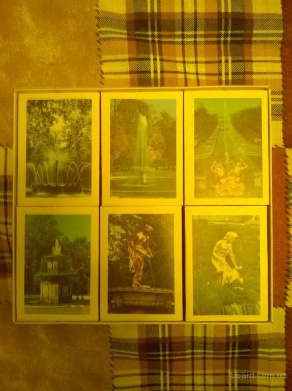 спички коллекционные фонтаны петродворца