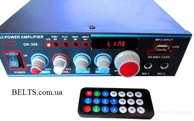 Продам.Усилитель звука для динамиков УКС 309, UKC 309