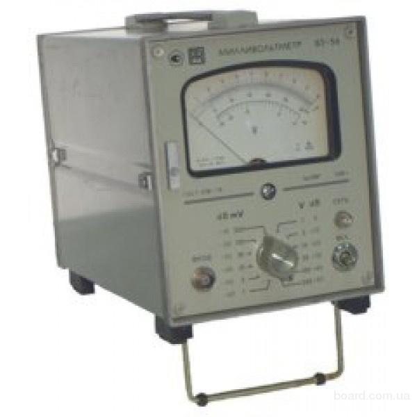 Милливольтметр В3-56