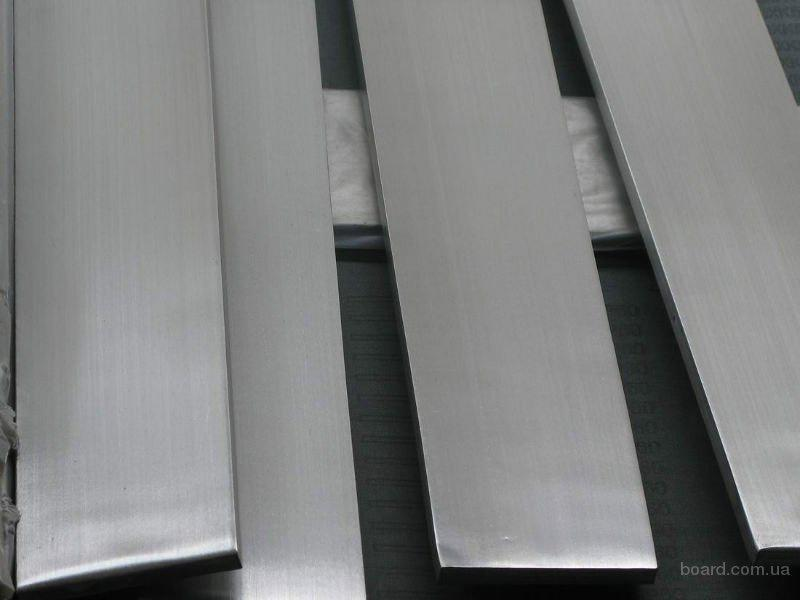 Полоса нержавеющая 6 х45х785мм сплав 12Х18Н10 остаток