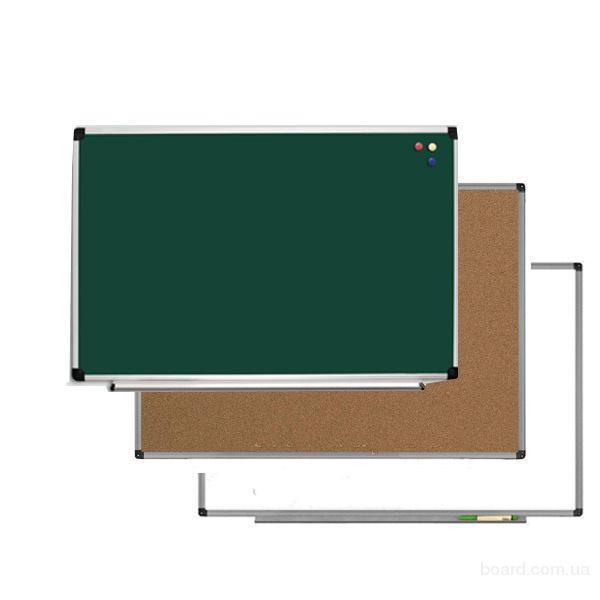 Купить, заказать доску школьную под мел или маркер, магнитные школьные доски