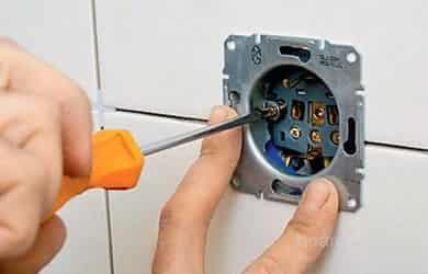 Услуги электрика по установке и ремонту люстр